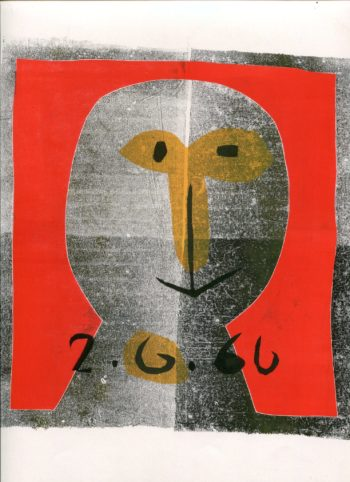 tête 2 - Monotype - Raymond Debiève