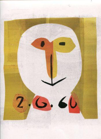 tête 002 - Monotype - Raymond Debiève