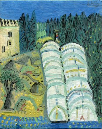 serres - Peinture Huile - Raymond Debiève
