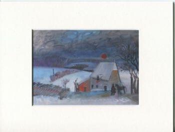 [:fr]Reproduction - Paysage sous la neige - 1985[:]