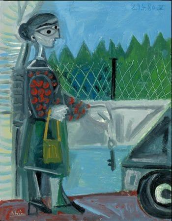 Le départ - Raymond Debiève - 1980 - 27x21cm