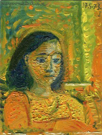 Raymond Debiève - Femme rêveuse