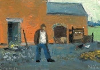 Raymond Debiève - Le fermier - 1981