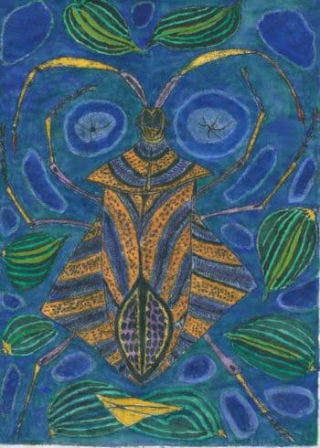 insecte nuit -Michel Debiève