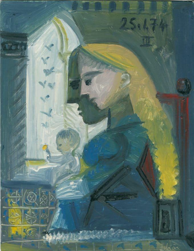 Debiève - maternité médiévale27x211974